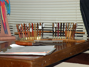 Photo: Rick's pens