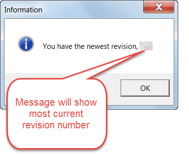 you have the latest revision