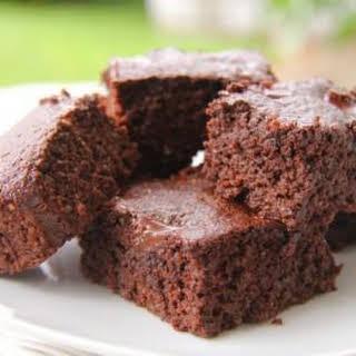 Chocolate and Coffee Brownies (Coconut Flour & Chia Seed).