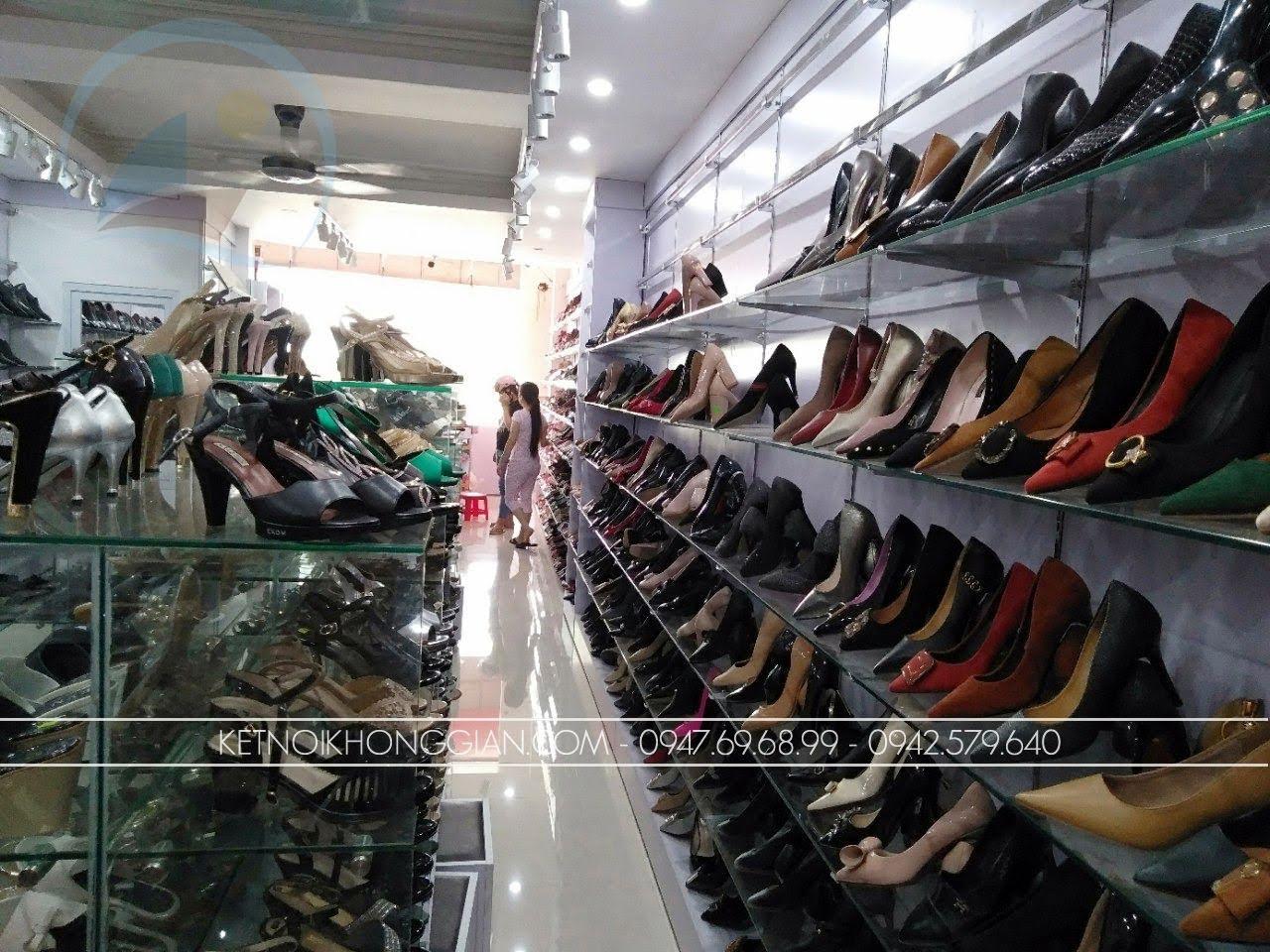 thiết kế thi công nội thất shop giày dép thời trang 7
