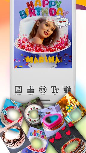 Name photo on Birthday Cake Maker ss1