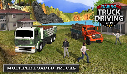 Offroad Transport Truck Driving - Jeep Driver 2019  screenshots 15