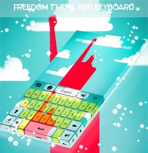 Freedom Theme for Keyboard - náhled