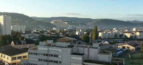 Photo: Besançon le matin