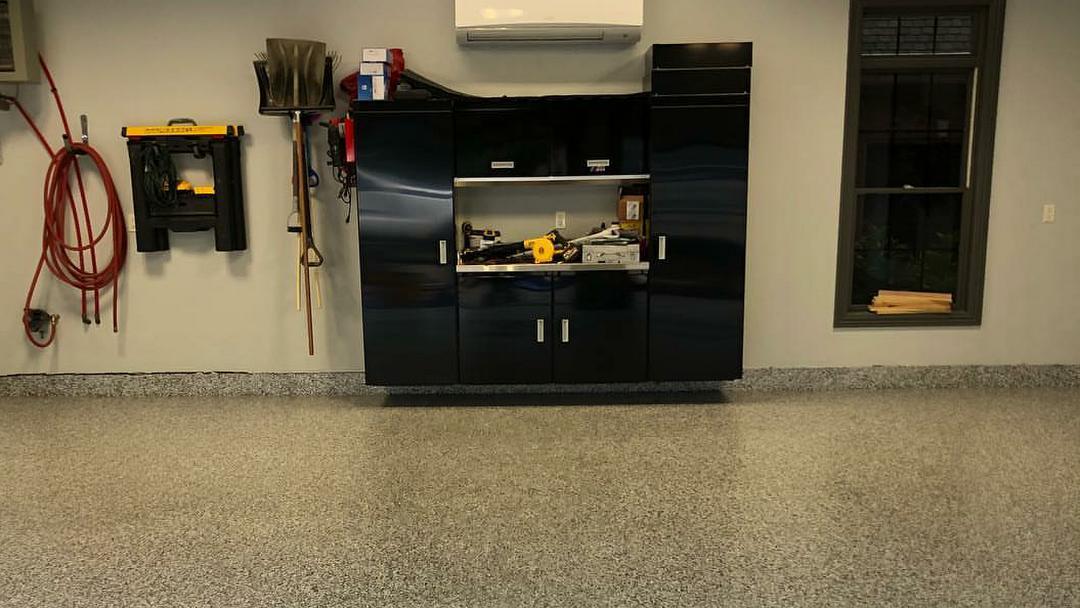 Epoxy Crete Garage Flooring and Epoxy Floors Countertops - Floor