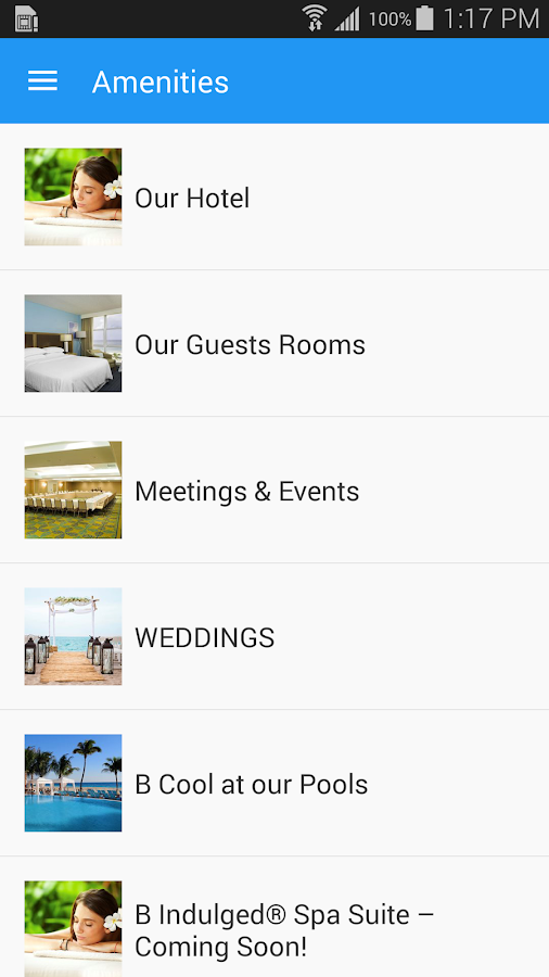 BHotels- screenshot