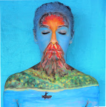 Photo: Body paint volcán