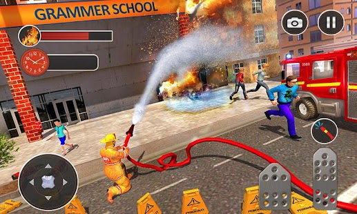 Fire Fighter Truck Real City Heroes - náhled
