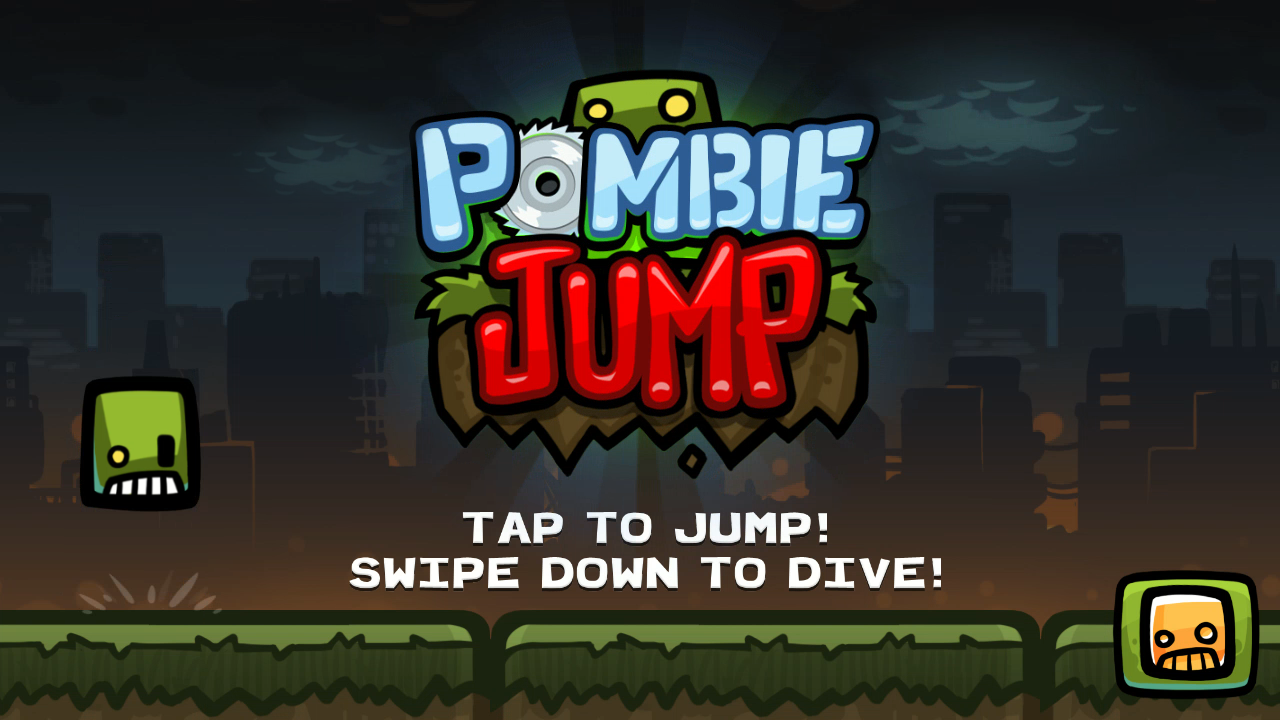 Pombie Jump- screenshot