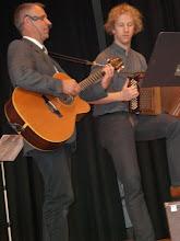 Photo: Kirchenliedervortrag mit Herr Pfarrer Enz und Simon Dettwiler