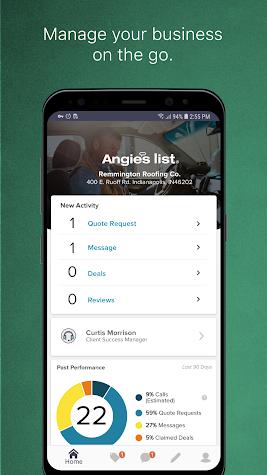 Angie's List Pro Screenshot