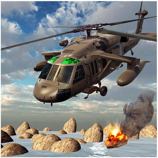 ヘリコプターガンシップ戦争3D 動作 App LOGO-APP試玩