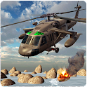 Helicopter Gunship War 3D icon