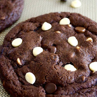 Triple Chocolate Cookies.