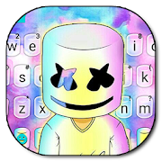 Dj Galaxy Cool Man Keyboard Theme