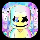 Thème de clavier Dj Galaxy Cool Man icon