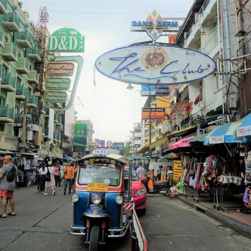 世界一有名なバックパッカー街は観光地に!?バンコク・カオサンのいま