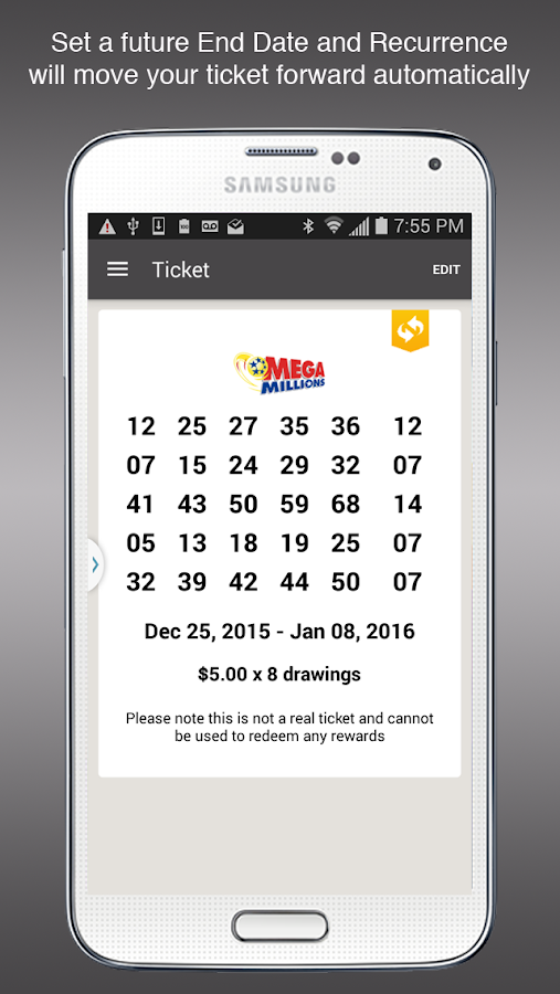 Willit Lottery App- screenshot