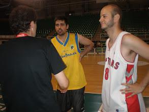 Photo: Primera Semifinal: Luis Javier Polo y Fco.Javier Olmos durante la decisión del orden de tiro