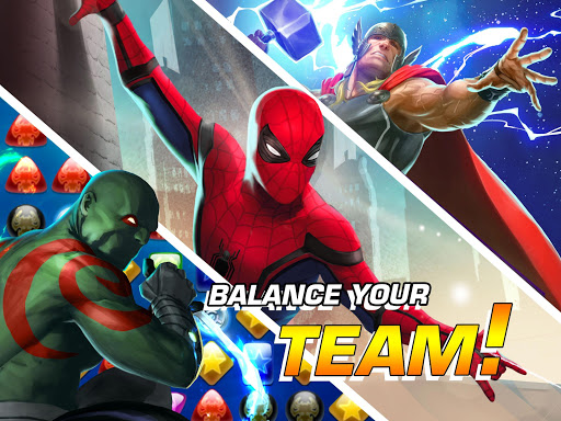 MARVEL Puzzle Quest: Join the Super Hero Battle! 204.531444 screenshots 10