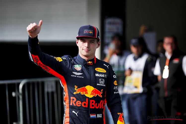 📷 Hilarisch! Max Verstappen nam vorige week het zitje voor de derde plaats al mee, maar Mercedes heeft het nu nodig