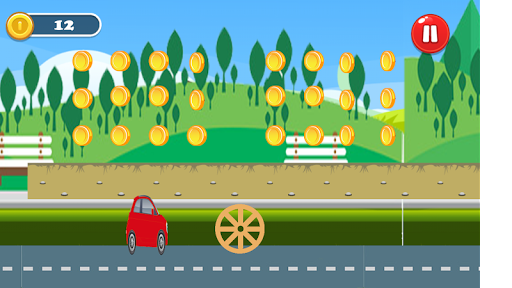 Car Jump- Run screenshot 2