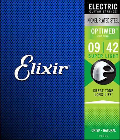 Elixir Electric Nickel Plated Steel Optiweb | 009-042