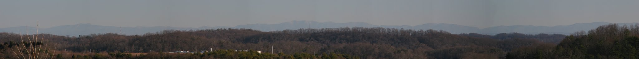 Photo: Smoky Mountains as viewed from Oak Ridge