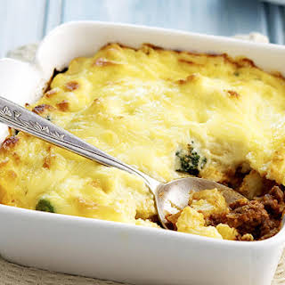Pastitsio (Baked Pasta with Lamb Bolognese).