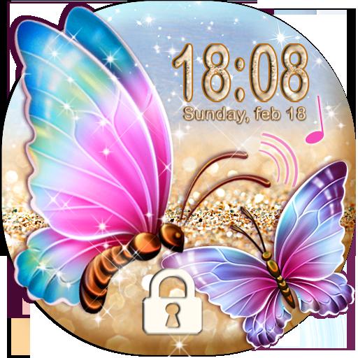 Butterfly Lock Screen ❦ Butterflies on Screen
