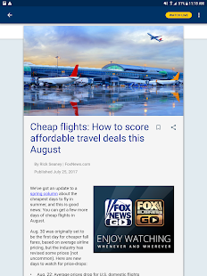 Fox News – Breaking News, Live Video & News Alerts- screenshot thumbnail