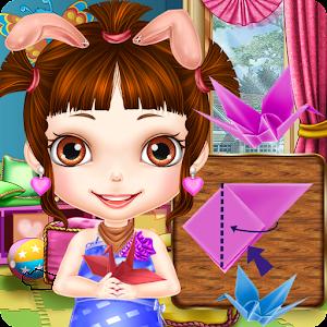 Princess Fold Paper Crane-Girl for PC and MAC