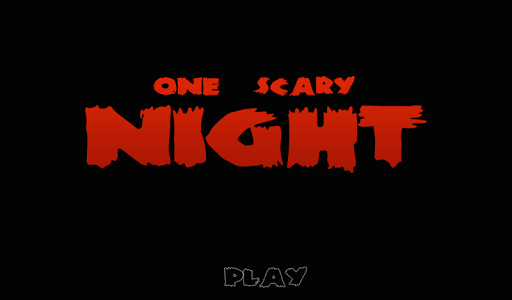 One Scary Night - Horror Game