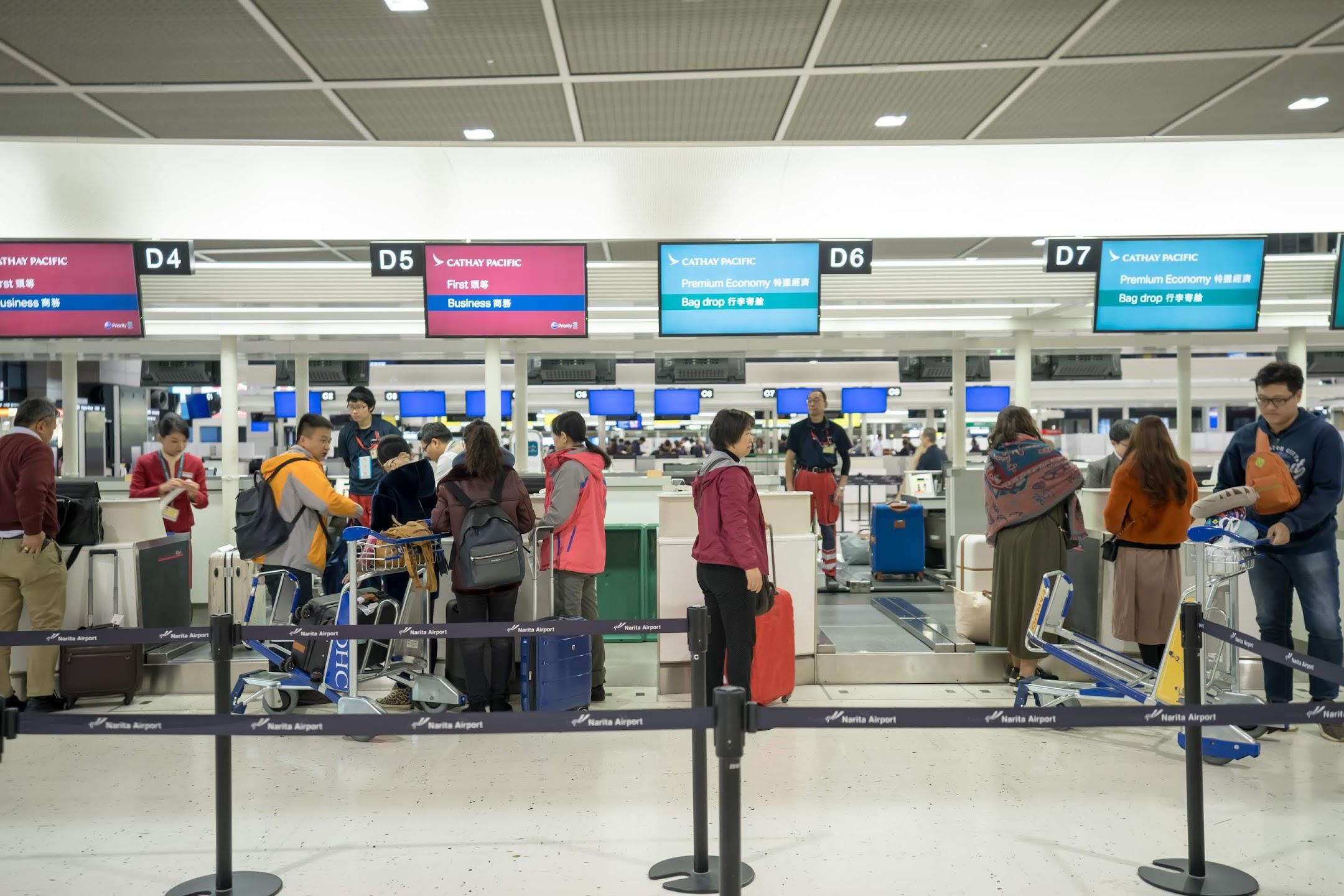 Narita International Airport Cathay Pacific1