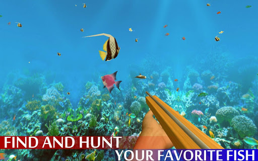 Spearfishing Wild Shark Hunter - Fishing game apkpoly screenshots 7