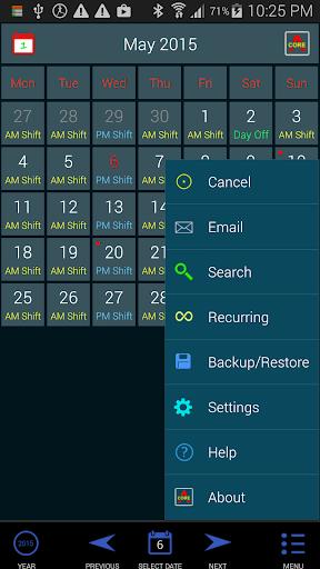 Work Roster 1.011 screenshots 2