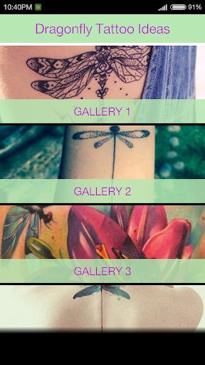 玩免費遊戲APP|下載Dragonfly Tattoo Ideas app不用錢|硬是要APP