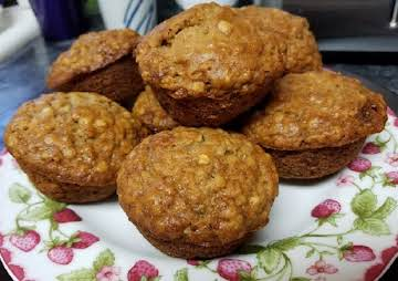Beautiful Banana Oat Muffins