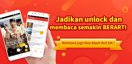 Money Locker :  Baca dan Dapatkan Pulsa Gratis ! for PC