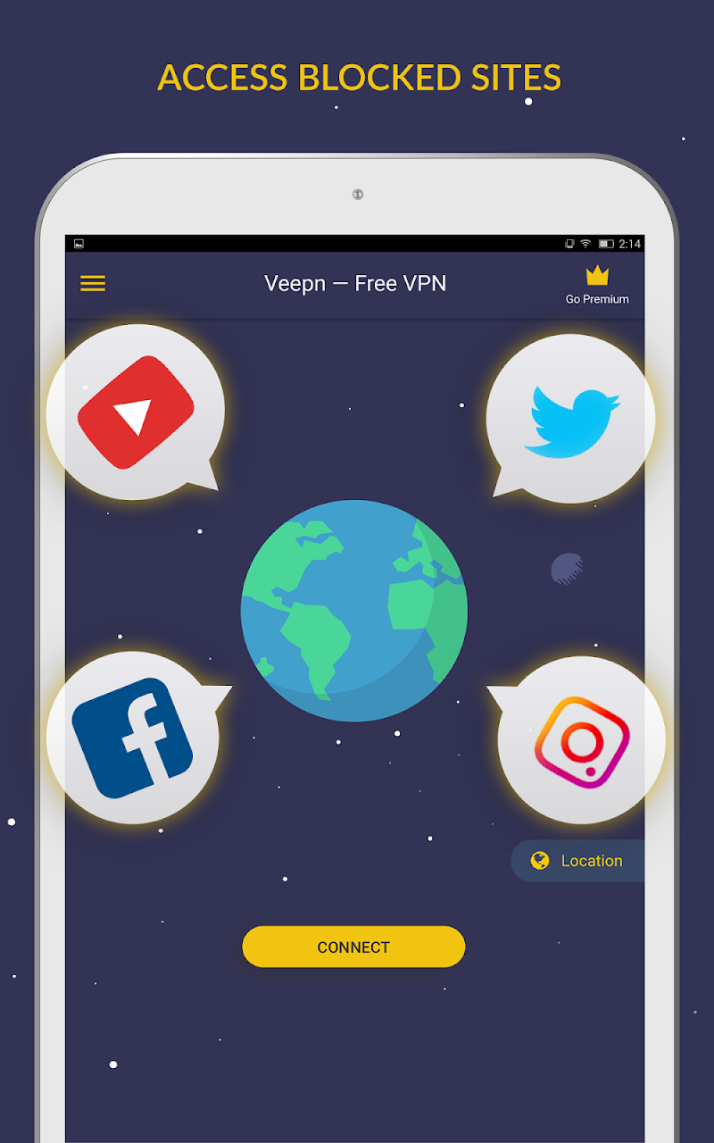 Free VPN by Veepn Screenshot 6
