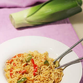 Singapore Fried Rice Recipe  Spicy Singapore Fried Rice.