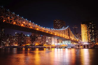 Photo: New York at Night - 59th Street Bridge ---  59th Street Bridge and the New York City skyline at night  --  <b>Camera: Sony a99 | Lens: Zeiss Vario-Sonnar T* 24-70mm f/2.8 --- You can view this at my photography portfolio here: http://goo.gl/6B2oN