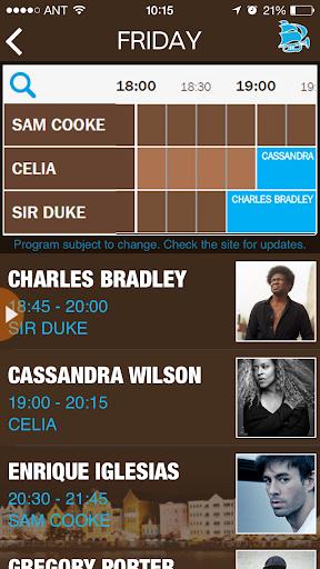 音樂必備APP下載|Curacao NorthSeaJazz 2015 好玩app不花錢|綠色工廠好玩App