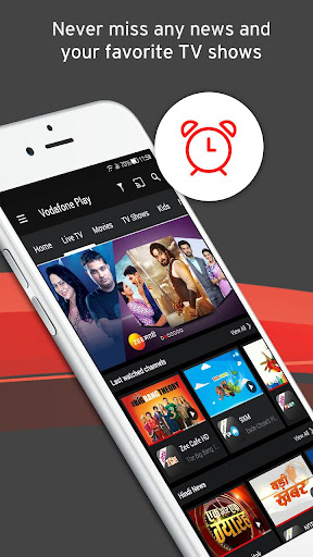 Vodafone Play Live TV Movies TV Shows News 1.0.45 screenshots 2