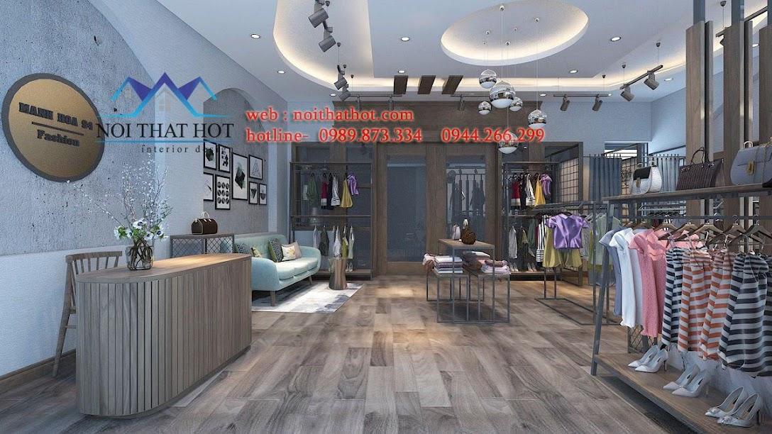thiết kế shop thời trang nữ lily 4