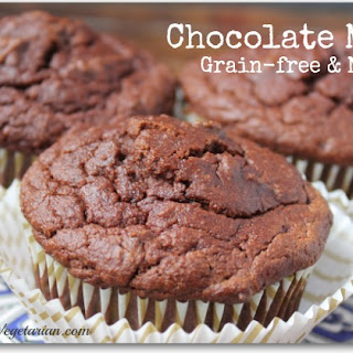 Coconut Flour Chocolate Muffin.