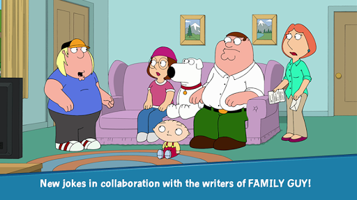Family Guy The Quest for Stuff screenshot 2