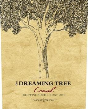 Logo for The Dreaming Tree Crush Red Blend
