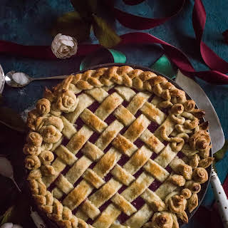 Cherry-Raspberry Amaretto Pie (For the Lazy Cook).