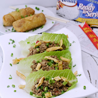 Slow Cooker Ground Turkey Lettuce Wraps